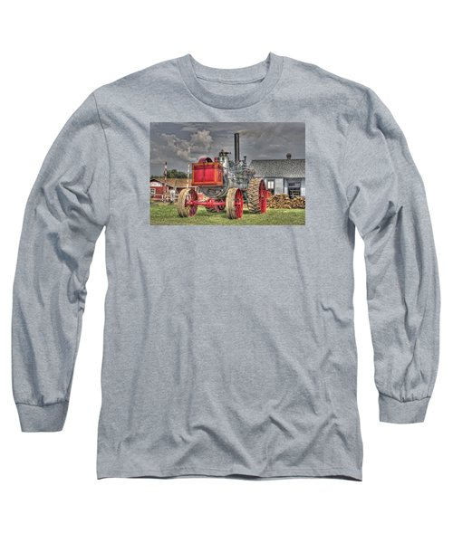 Minneapolis Return Flue  Long Sleeve T-Shirt by Shelly Gunderson