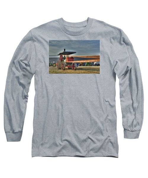 Minneapolis Return Flue Threshing Long Sleeve T-Shirt