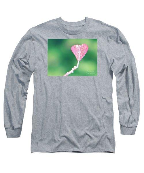 Miss Lonely Heart Long Sleeve T-Shirt by Joy Hardee
