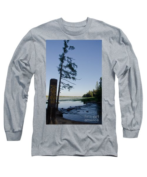 Mississippi Headwaters Long Sleeve T-Shirt