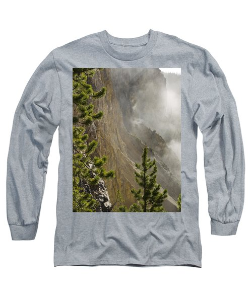 Misty Canyon  Long Sleeve T-Shirt by Tara Lynn