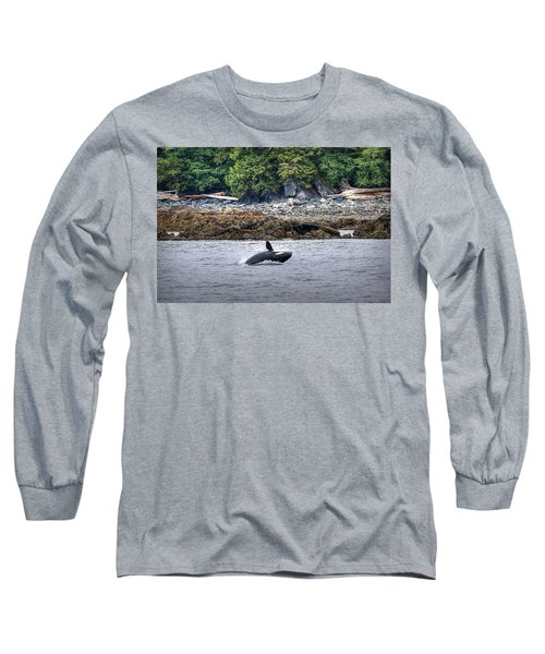 Misty Fjords Orca Long Sleeve T-Shirt