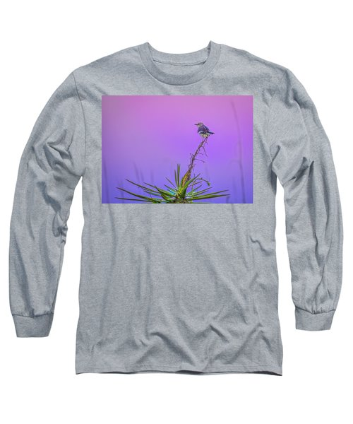 Long Sleeve T-Shirt featuring the photograph Mocking The Yucca by Rob Sellers