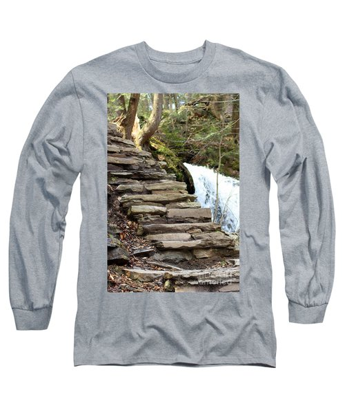 Mohawk Falls Steps Long Sleeve T-Shirt