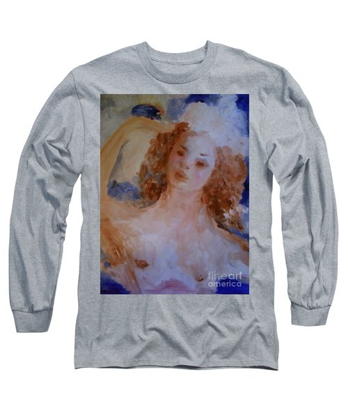 Mom Near Jupiter Long Sleeve T-Shirt by Laurie L