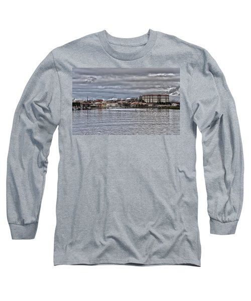 Monastery From The River Long Sleeve T-Shirt