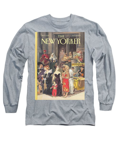Monday At The Met Long Sleeve T-Shirt