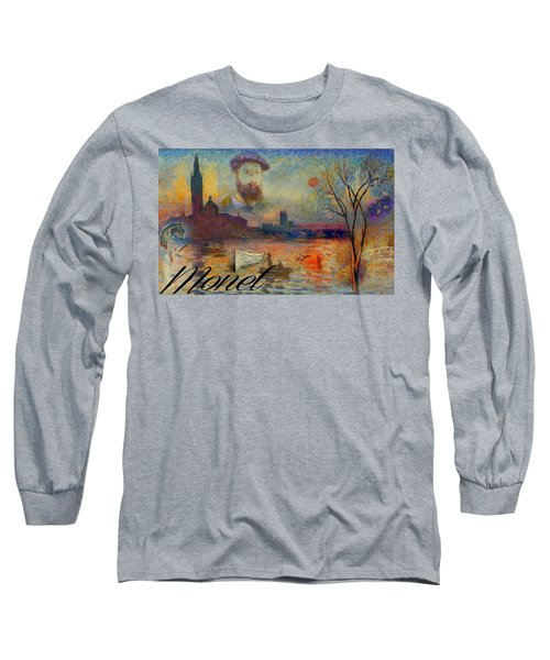 Monet-esque Long Sleeve T-Shirt by Greg Sharpe