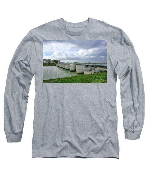Mont Saint Michel Dam Long Sleeve T-Shirt