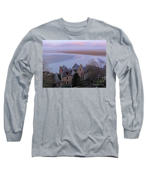 Mont St Michel Tower View Long Sleeve T-Shirt