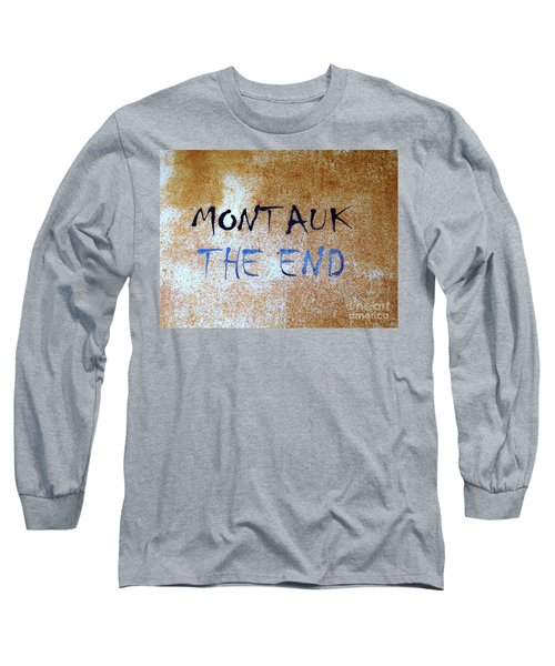 Montauk-the End Long Sleeve T-Shirt