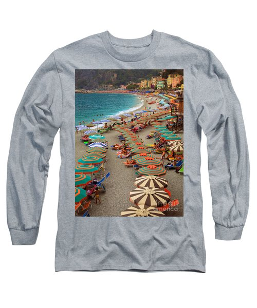 Monterosso Beach Long Sleeve T-Shirt