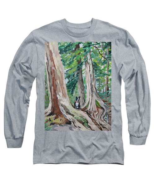 Monty's Travels Long Sleeve T-Shirt