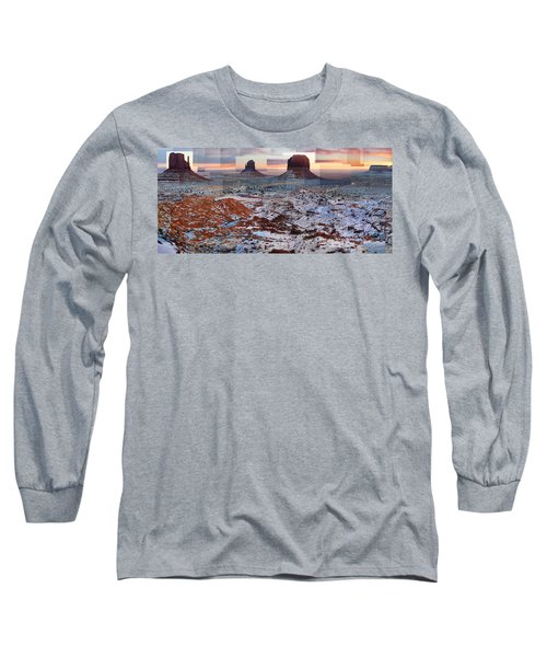 Monument Valley Mittens Long Sleeve T-Shirt