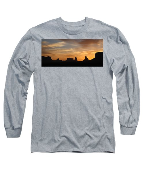 Monument Valley Sunrise Long Sleeve T-Shirt