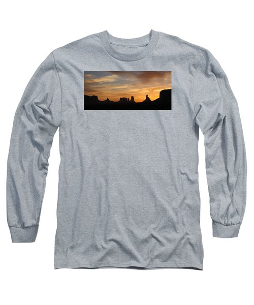 Monument Valley Sunrise Long Sleeve T-Shirt