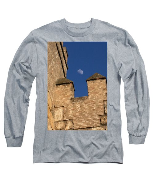 Moon Over Alcazar Long Sleeve T-Shirt