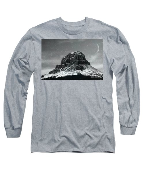Moon Over Crowsnest Long Sleeve T-Shirt