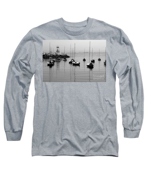 Moored Long Sleeve T-Shirt by Eunice Miller