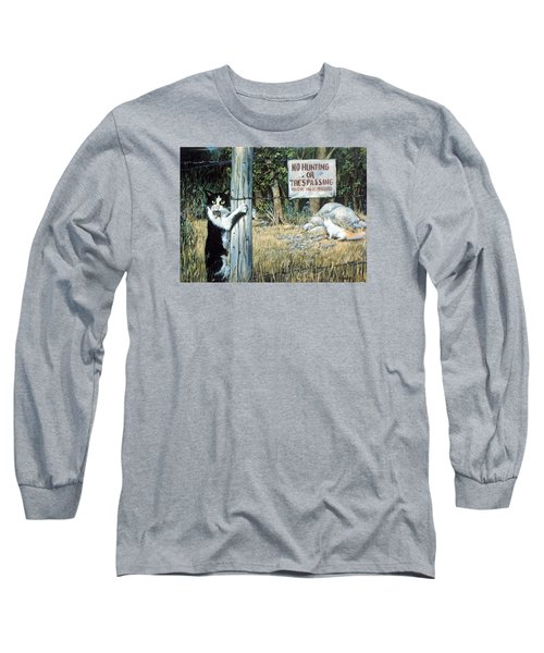 Long Sleeve T-Shirt featuring the painting More Civil Disobedience by Donna Tucker