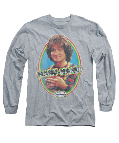 Mork And Mindy - Nanu Nanu Long Sleeve T-Shirt