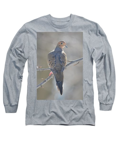 Mourning Dove Long Sleeve T-Shirt by Richard Bryce and Family