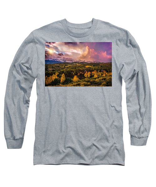 Long Sleeve T-Shirt featuring the photograph Morning Glory by Ken Smith