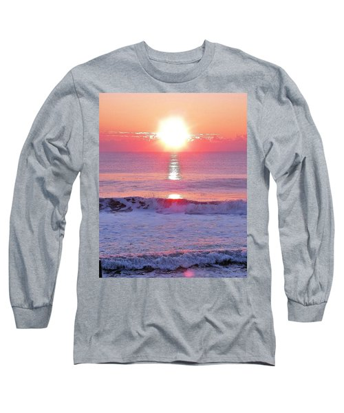 Long Sleeve T-Shirt featuring the photograph Morning Has Broken by Kim Bemis