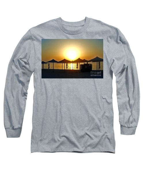 Morning In Greece Long Sleeve T-Shirt