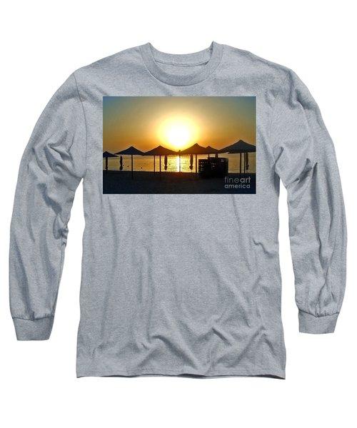 Morning In Greece Long Sleeve T-Shirt