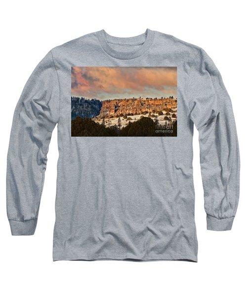 Morning Sun On The Ridge Long Sleeve T-Shirt