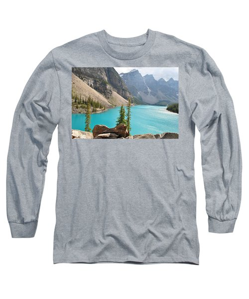 Morraine Lake Long Sleeve T-Shirt