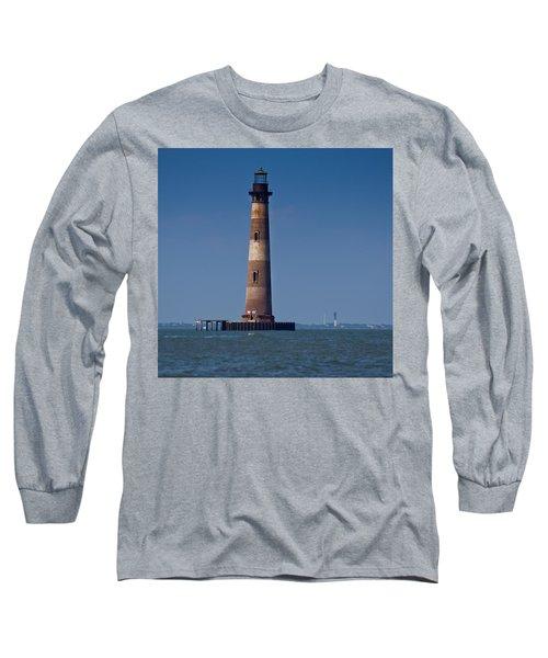 Morris Island Light With Sullivan's Long Sleeve T-Shirt