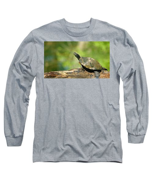 Mossy Turtle Long Sleeve T-Shirt