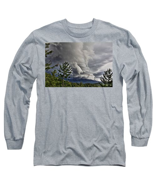 Mother Nature Showing Off V2 Long Sleeve T-Shirt by Tom Culver