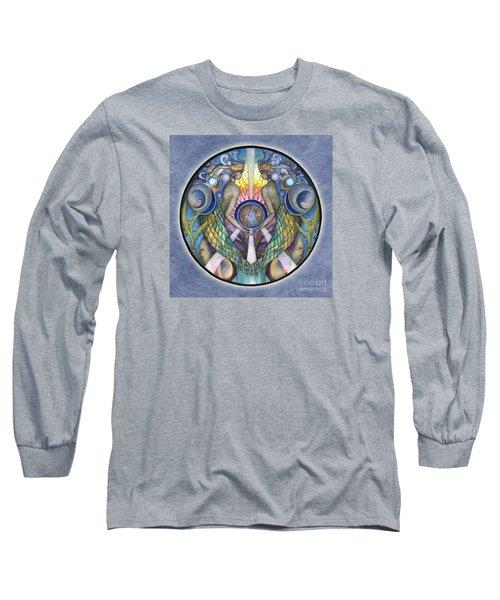 Mother Ocean Mandala Long Sleeve T-Shirt