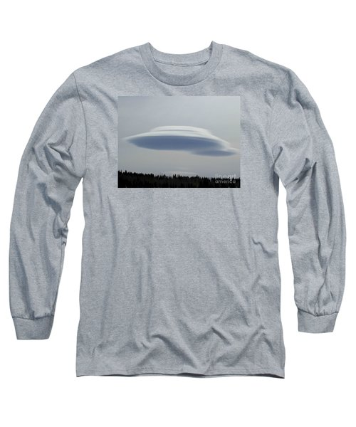Mother Ship Long Sleeve T-Shirt by Fiona Kennard
