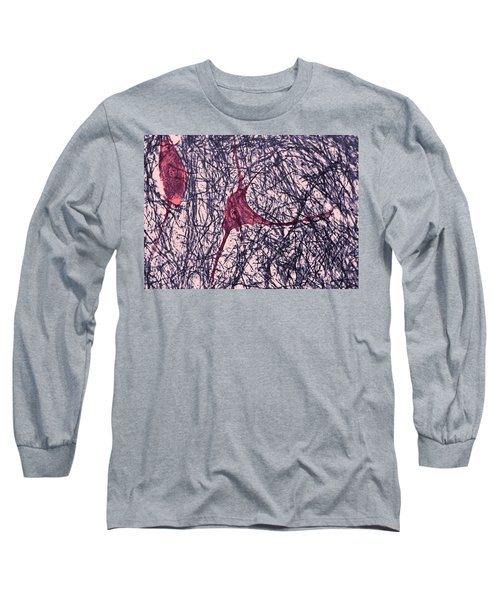 Motor Neuron, Cat Spinal Cord Long Sleeve T-Shirt