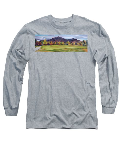 Mount Osceola New Hampshire Long Sleeve T-Shirt by Nancy Griswold