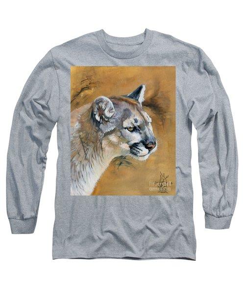 Mountain Lion Long Sleeve T-Shirt