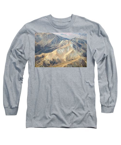 Long Sleeve T-Shirt featuring the photograph Mountain View 2 by Mark Greenberg