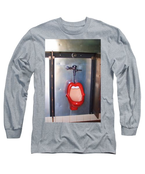 Mouth Urinal Two Long Sleeve T-Shirt