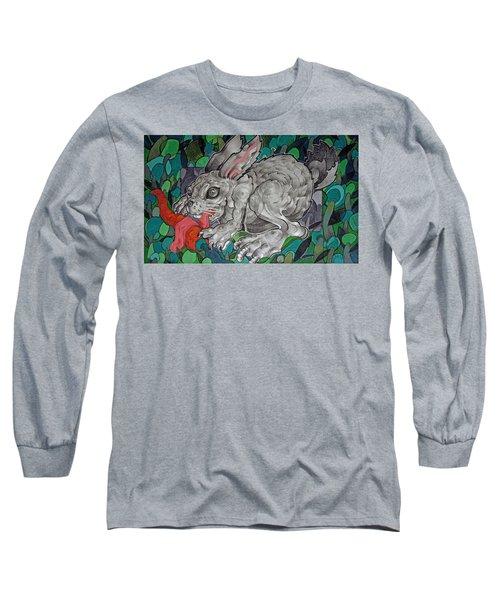 Mr Greedy Bunny Long Sleeve T-Shirt