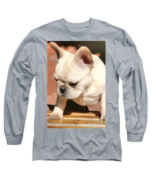 French Bulldog Ms Quiggly  Long Sleeve T-Shirt