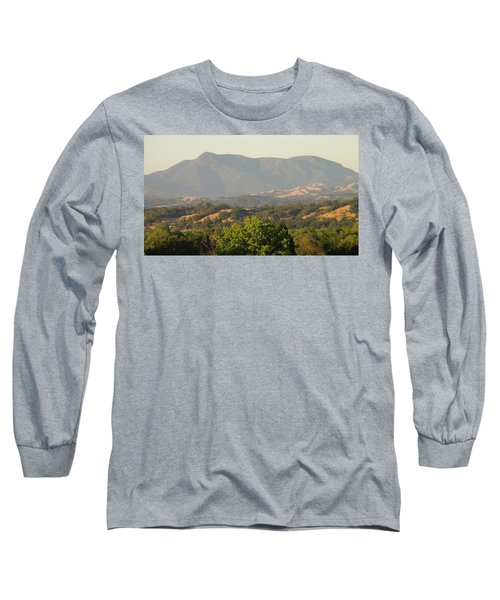 Long Sleeve T-Shirt featuring the photograph Mt. Cali by Shawn Marlow