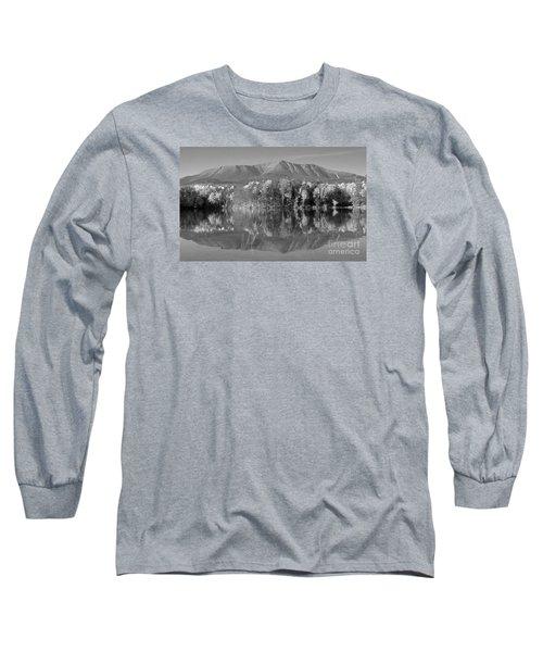 Mt Katahdin Baxter State Park Fall Long Sleeve T-Shirt by Glenn Gordon