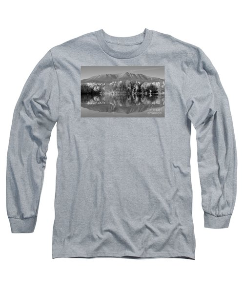 Mt Katahdin Baxter State Park Fall Long Sleeve T-Shirt