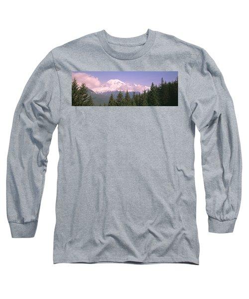 Mt Ranier Mt Ranier National Park Wa Long Sleeve T-Shirt