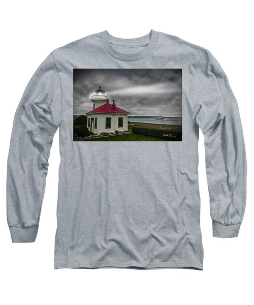 Mukilteo Lighthouse Long Sleeve T-Shirt by Charlie Duncan