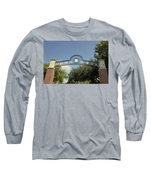 Munn Park Long Sleeve T-Shirt by Laurie Perry